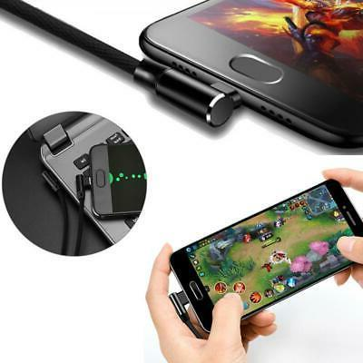 RIGHT ANGLE 10FT LONG GAMING POWER CORD PHONES