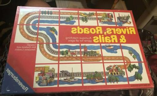 rivers roads and rails matching game new