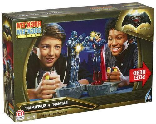Rock'em Superman Classic Game Mattel