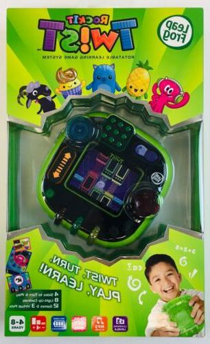 rockit twist rotatable learning game system green