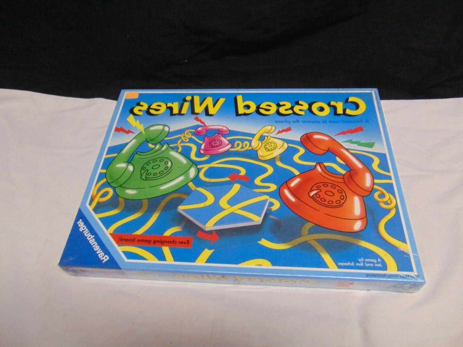 sealed 1993 crossed wires board game 210985