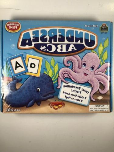 Undersea ABCs Game, Ages 4 and Up, 1-4 Players