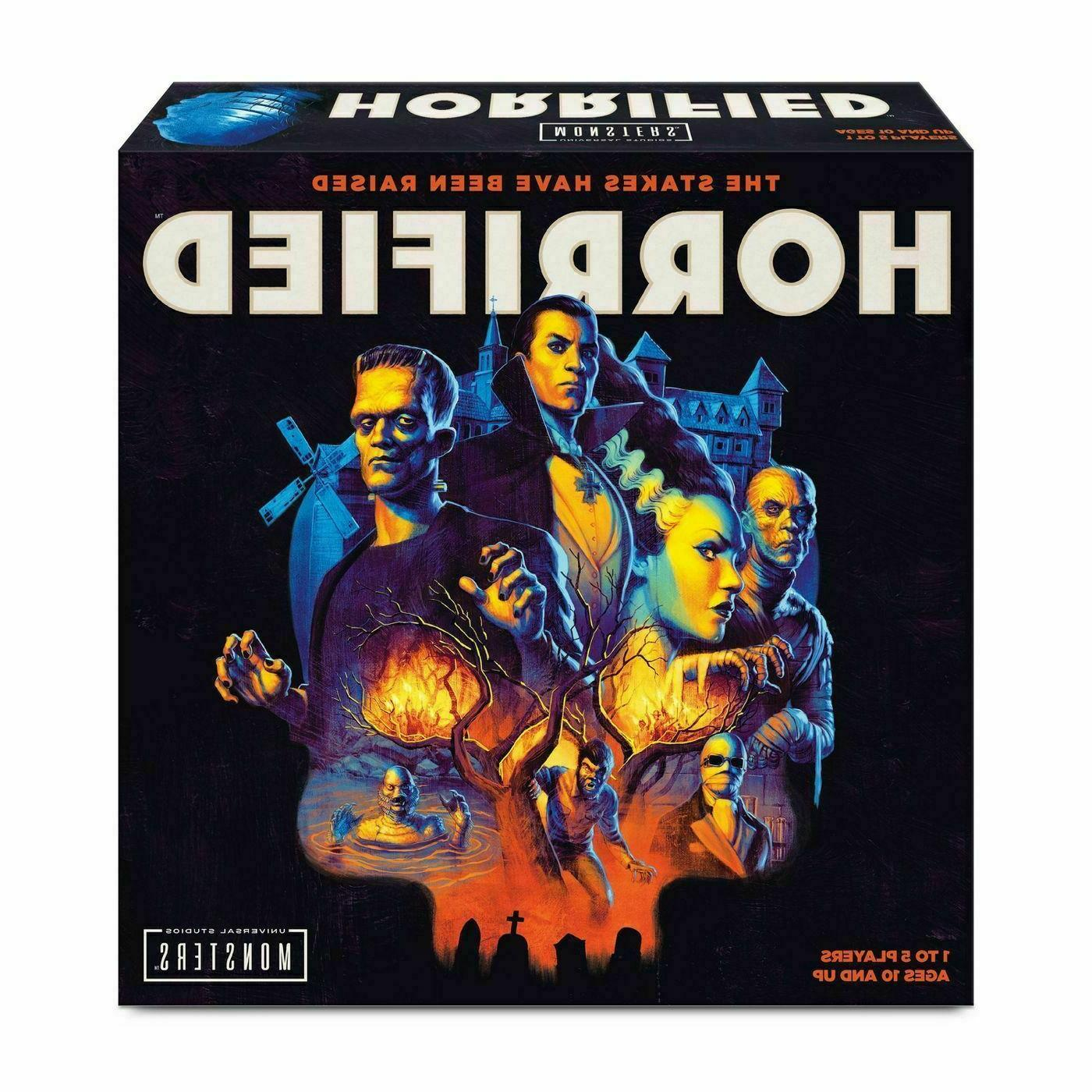 universal monsters horrified game strategy board game