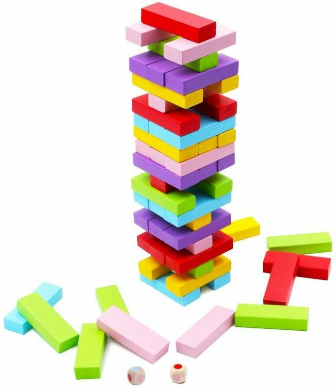 wooden stacking board games for kids