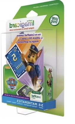 Leap Frog Imagicard Paw Patrol Learning Math Game for Leap P