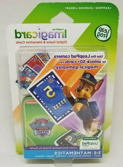 Leap Frog Imagicard Paw Patrol math learning game for Leap P
