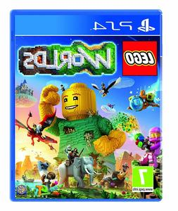 Lego Worlds PS4 - Kids Game for Sony PlayStation 4 BRAND NEW