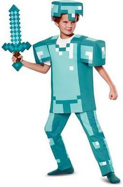 Licensed Minecraft Armor Deluxe Toys Games Character  Costum