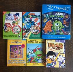 Lot Of NEW PC CD-ROM Games For Kids -Disney,Muppets, Sudoku