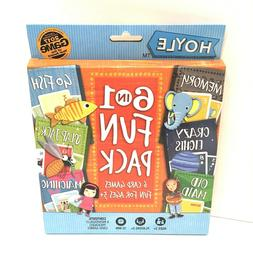 Memory Card Games For Kids 6 In 1 Fun Pack Classic Card Game
