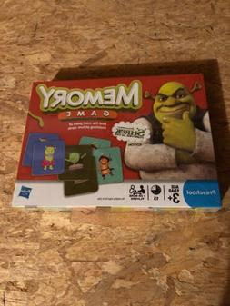 Memory - Shrek Forever After. Hasbro Board Games for Kids NE