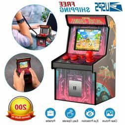 Mini Retro Arcade Machine Handheld Gaming System with 200 Vi