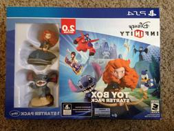 NEW Disney Infinity 2.0 Toy Box Starter Pack PS4 Kids Game B