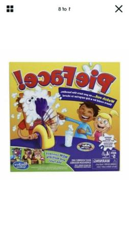New Hasbro Pie Face Game For Kids Ages 5+