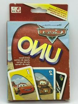 NEW Sealed UNO Disney/Pixar Cars Card Game for 2-10 Players