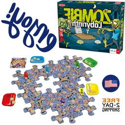 New Zombie Labyrinth board game family games fun playing par