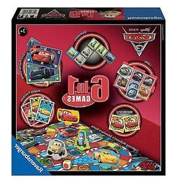 Disney Pixar Cars 3 6 In 1 Board Game Brand New Gift