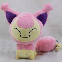 Pokemon Character Skitty Eneco 7'' Stuffed Animal Game Plush