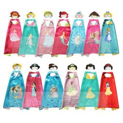 Princess Costume Toddler Capes for Kids Halloween Princess G