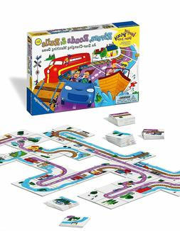 Ravensburger Rivers, Roads And Rails - Children's Board Game