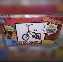 "Ryan's World Combo Panda Bicycle 16"" For ages 4-8 Boys Bike"