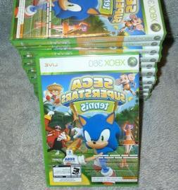 Sega Superstars Tennis & Arcade Game for XBOX 360 system NEW