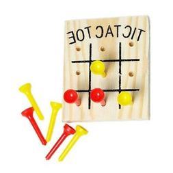 Set of 3 Rhode Island Novelty Wooden Tic Tac Toe Games