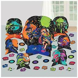 SPLATOON TABLE DECORATING KIT  ~ Birthday Party Supplies Cen