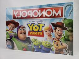 TOY STORY MONOPOLY Disney Pixar Board Game 2019 Woody Buzz R