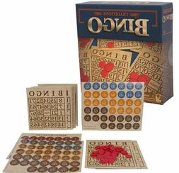 Traditions Bingo Set, Multiplayer Board Game - For Children