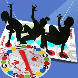 Twister Game Funny Kid Family Body Twister Move Mat Board Ga