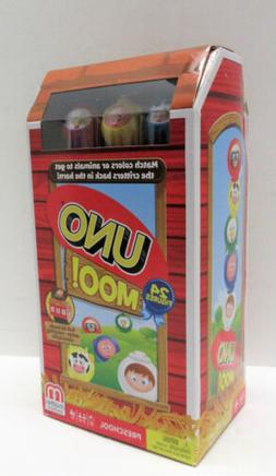 Mattel UNO Moo! Game with Storage Case - for Ages 3 and Up