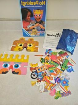 Ravensburger Vintage 1992 No Peeking! Kids Board Guessing Ga
