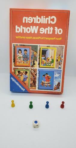 Vintage Ravensburger Children Of The World Board Game 1989 *
