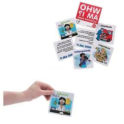 Who Am I? Guessing Game Primary Teaching Educational Card Oc
