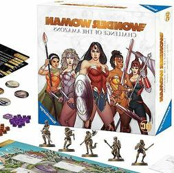 Wonder Woman: Challenge of The Amazons Strategy Board Game N