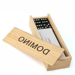 Fun Express Wooden Classic Domino Dominoes Game