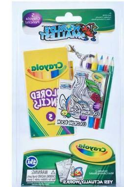 World's Smallest - Crayola Coloring Set -  Miniature Game RE